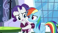 Rarity wants Rainbow to trust her S5E15