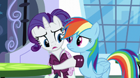 Rarity wants Rainbow to trust her S5E15
