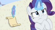 Rarity writing letter 'Because poor Opal is quite ill' S2E9