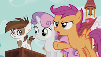 "Scootaloo ""Do we really need a big statue of her?"" S5E18"