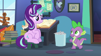 "Spike ""checking to see if you need anything"" S6E21"