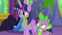 "Spike ""mashed peas were her favorite"" S7E3"