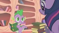Spike says it's a curse S1E09