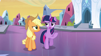 "Twilight Sparkle ""I'm a little nervous, too"" EG"