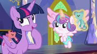 "Twilight Sparkle ""time for a quick game"" S7E3"