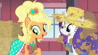 "Applejack ""it's nice, ain't it"" S4E13"
