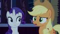 """Applejack """"or think it's funny?"""" S6E15.png"""