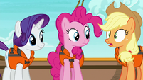 "Applejack ""wait a minute"" S6E22"