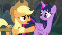 "Applejack ""you know I ain't no liar!"" S8E13"