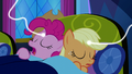 Applejack and Pinkie connected to magic threads S5E13.png