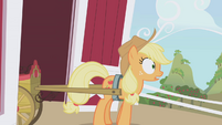 Applejack surprised S01E05