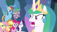 "Celestia ""we aren't completely helpless!"" S9E25"