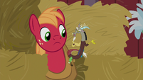 Discord -doesn't seem to have appreciated it- S8E10