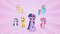 Dramatic reveal that the Mane Six are the Elements of Harmony S1E2.png