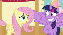Fluttershy '-Don't worry, Twilight- S5E11
