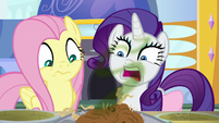 Fluttershy and Rarity utterly repulsed S9E24