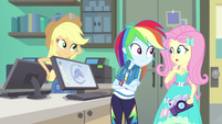 Fluttershy being innocently unaware EGFF