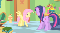 Fluttershy kick something S1E20