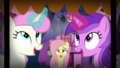 Fluttershy relieved to see nothing scary happening S5E21.png