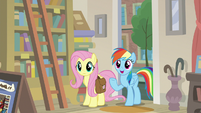"Rainbow Dash ""A. K. Yearling's true fans"" S9E21"