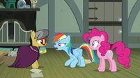 "Rainbow Dash ""for every one pony who's upset"" S7E18"