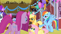 Rainbow Dash 'we wanted your party to be a surprise' S1E25