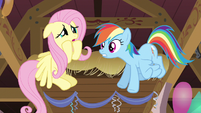 Rainbow Dash believing Fluttershy S2E14