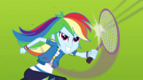 Rainbow Dash playing badminton CYOE4b