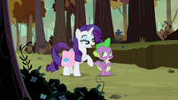 "Rarity ""nothing to be embarrassed by"" S8E11"