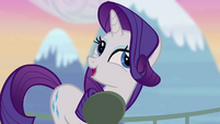Rarity 'just borrowing them' S4E03
