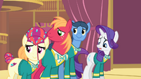 Rarity 'we would love to' S4E14