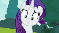 Rarity notices Sweetie Belle's discouragement S7E6