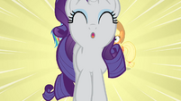 Rarity walking towards the camera S4E08