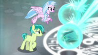 Sandbar and Silverstream look at artifacts S8E26
