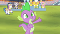 """Spike """"shall do the honor of singing"""" S4E24.png"""