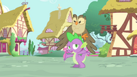 Spike -between the three of us- S4E23
