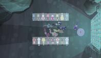 Starlight's trap overhead shot S5E1