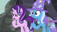 Starlight --magically stole everypony's cutie marks-- S6E25