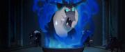 Storm King angrily sticks head through smoke MLPTM