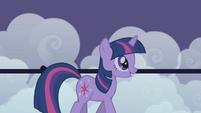 Twilight think Rainbow Dash loyal S1E2