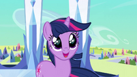 Twilight with heart in her eyes S3E2