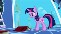 592px-Twilight Sparkle Book Not Amused S1E01