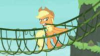 Applejack tying her vines together S8E9