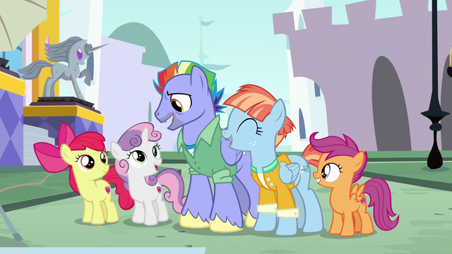 "File:Bow Hothoof ""now, let's do the pyramid!"" S7E7.png"