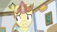 Destitute Pony looking nervous S8E16
