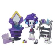 Equestria Girls Minis Rarity Dressing Room set