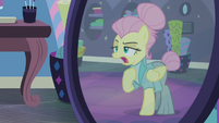 "Fluttershy ""acceptable business attire"" S8E4"