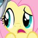 Fluttershy eye error S02E11