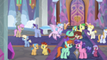 Ponies and creatures together at the school S8E1.png