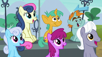 Ponies looking to the sky S6E7
